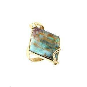 Anello di opale Australiano