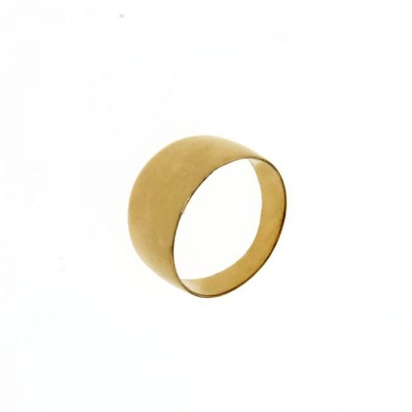 Anello in oro a fascia larga 11 MM