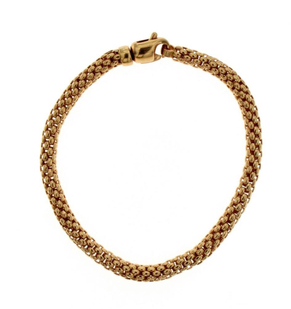 Bracciale in oro 18 Kt tipo snake