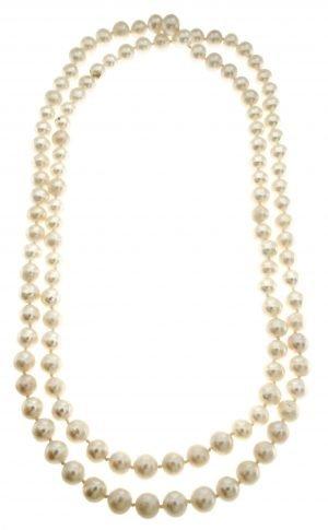 Collana di perle coltivate di mare dia 8