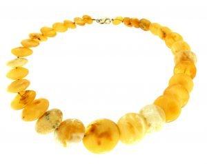 Collana girocollo di ambra